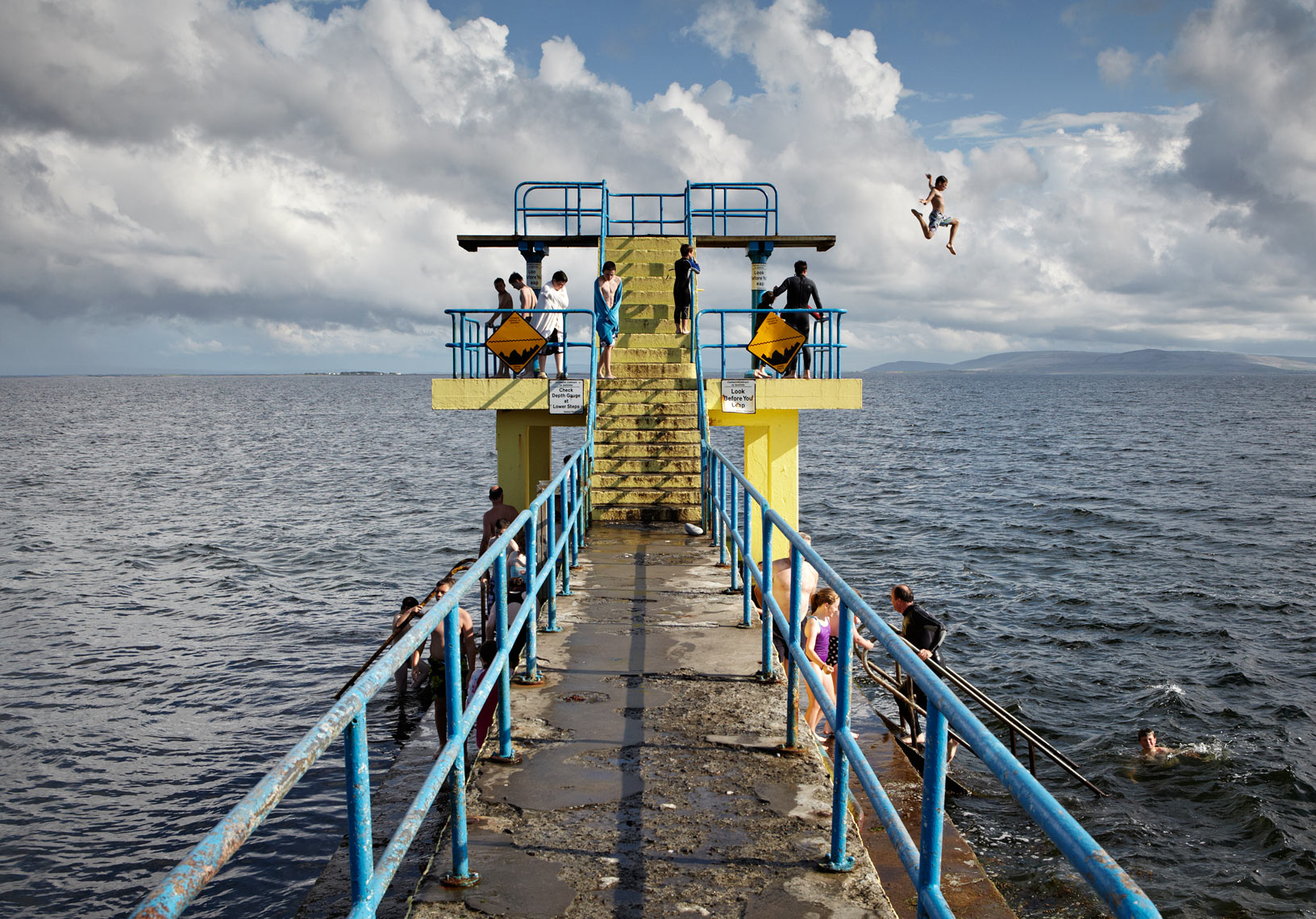 Black Rock diving board, Salthill, Galway