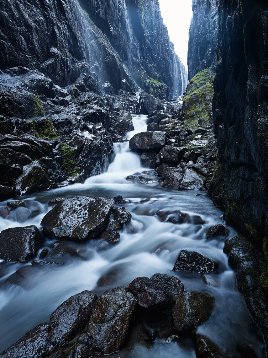 River Stora flowing through gorge