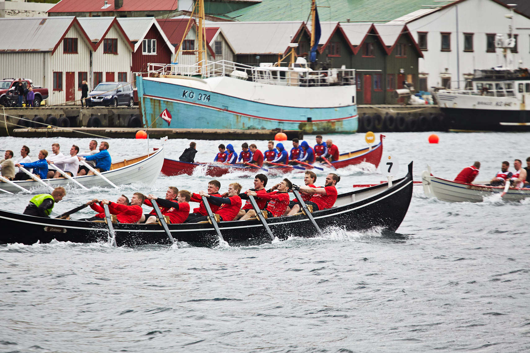 Rowing race in Klaksvik