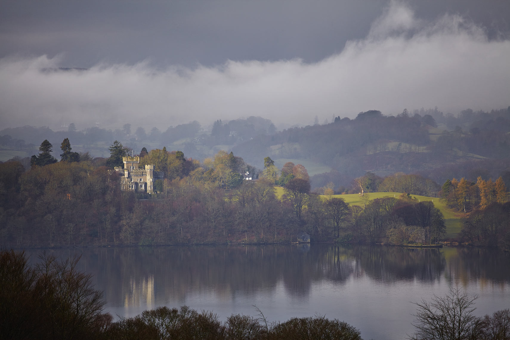 Wray Castle, Claife, Lake Windermere