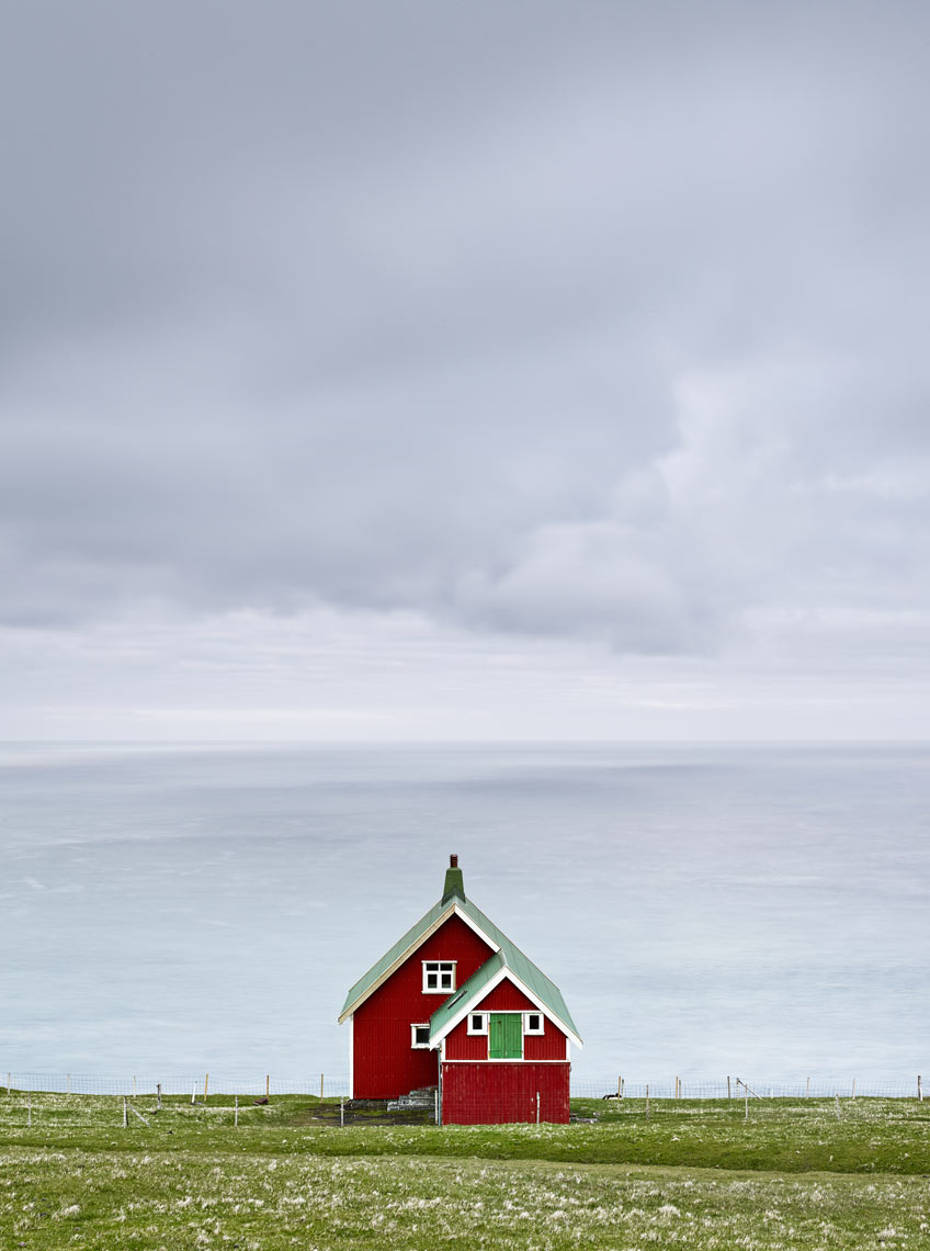 Red cabin at Akraberg, Suduroy